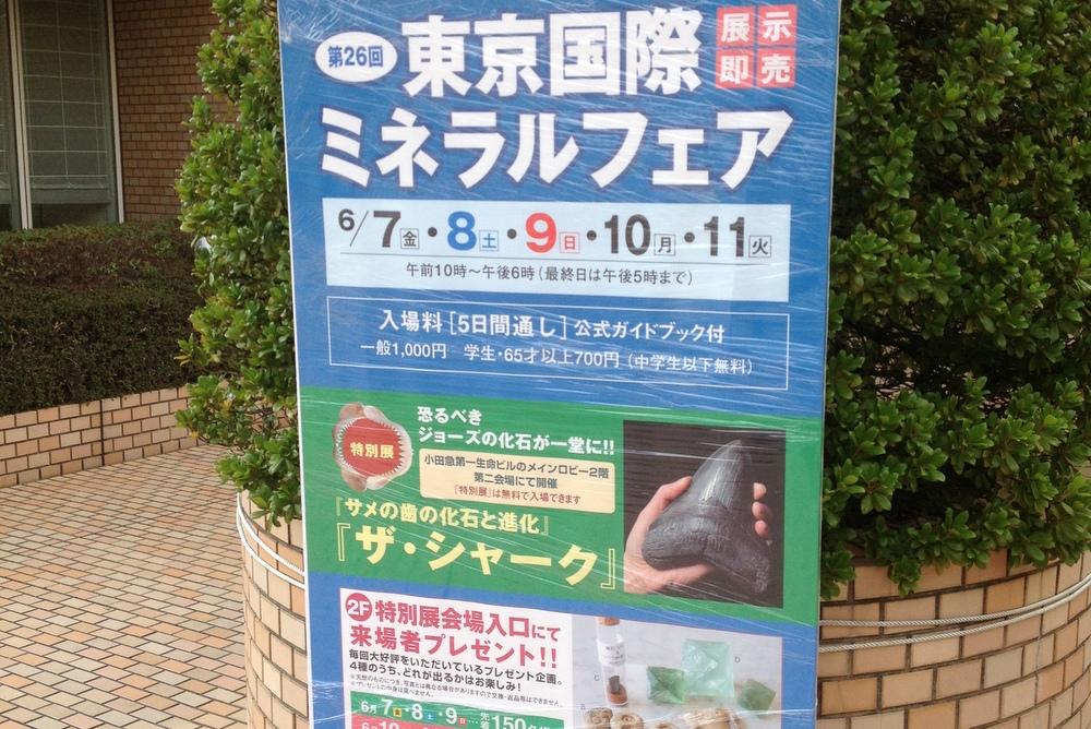第26回東京国際ミネラルフェアに行ってきたよ